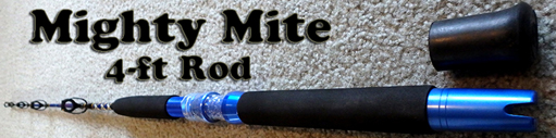 Halibut fishing tackle for halibut fishing for Mighty mite fishing rod